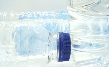 Botellas de plástico reciclables