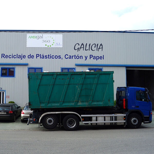 Transporte y gestión de residuos de puntos limpios