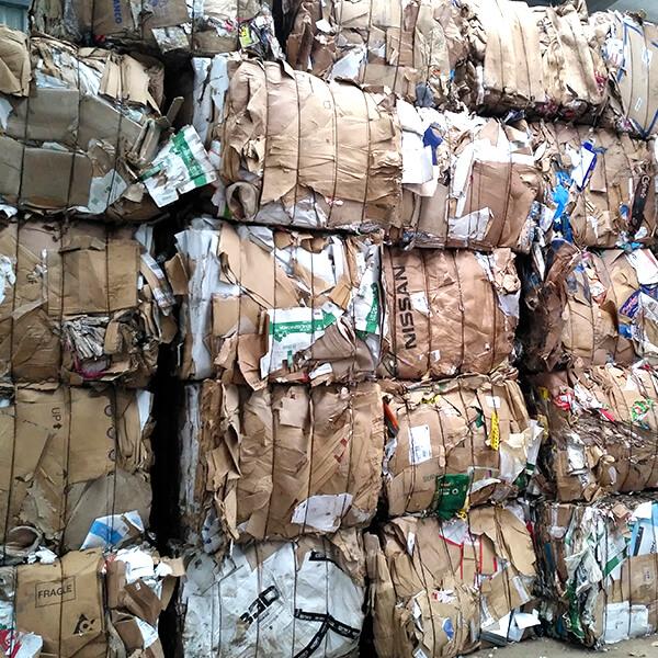 Valorización especializada en la recuperación de residuos de papel y cartón